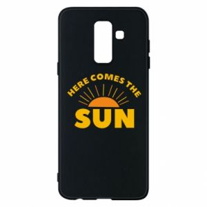 Etui na Samsung A6+ 2018 Here comes the sun
