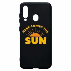 Etui na Samsung A60 Here comes the sun