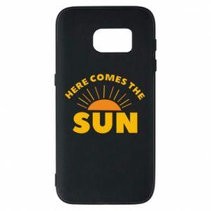 Etui na Samsung S7 Here comes the sun