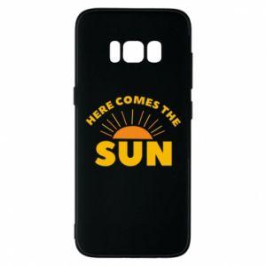 Etui na Samsung S8 Here comes the sun