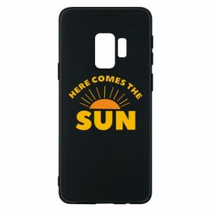 Etui na Samsung S9 Here comes the sun