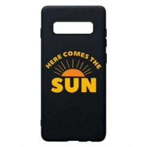 Etui na Samsung S10+ Here comes the sun