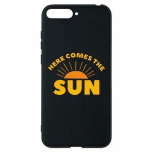 Etui na Huawei Y6 2018 Here comes the sun