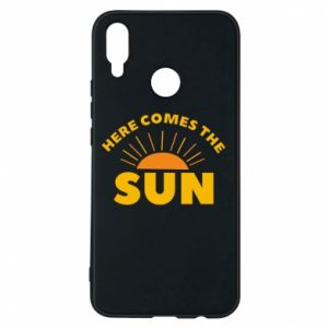 Etui na Huawei P Smart Plus Here comes the sun