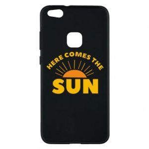 Etui na Huawei P10 Lite Here comes the sun