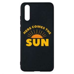 Etui na Huawei P20 Here comes the sun