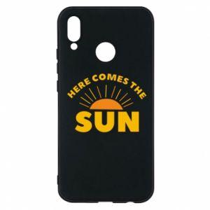 Etui na Huawei P20 Lite Here comes the sun