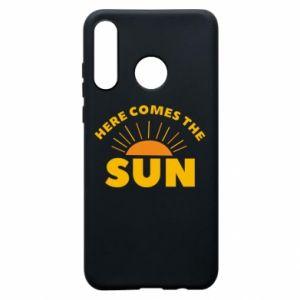 Etui na Huawei P30 Lite Here comes the sun