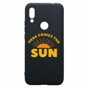 Etui na Xiaomi Redmi 7 Here comes the sun