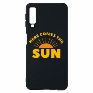 Etui na Samsung A7 2018 Here comes the sun