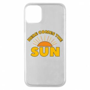 Etui na iPhone 11 Pro Here comes the sun
