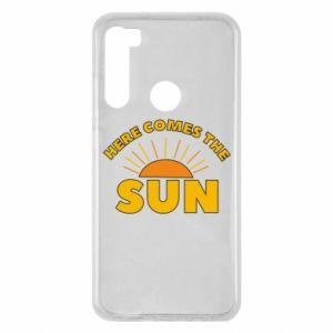 Etui na Xiaomi Redmi Note 8 Here comes the sun