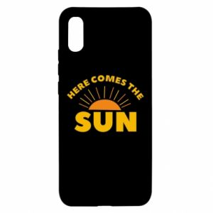 Etui na Xiaomi Redmi 9a Here comes the sun