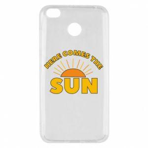 Etui na Xiaomi Redmi 4X Here comes the sun