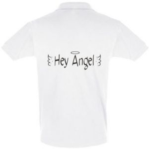 Men's Polo shirt Hey angel