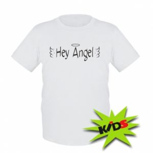Kids T-shirt Hey angel