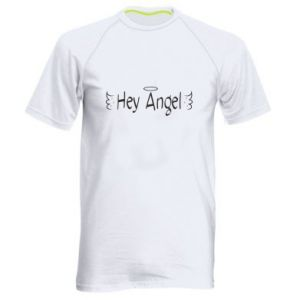 Men's sports t-shirt Hey angel