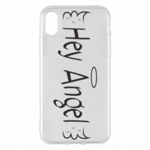 Phone case for iPhone X/Xs Hey angel