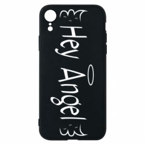 Phone case for iPhone XR Hey angel