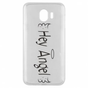 Phone case for Samsung J4 Hey angel