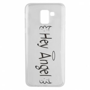 Phone case for Samsung J6 Hey angel