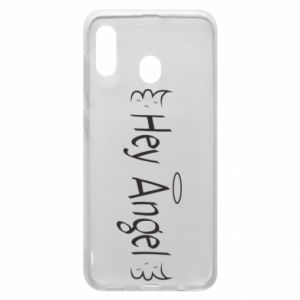 Phone case for Samsung A20 Hey angel