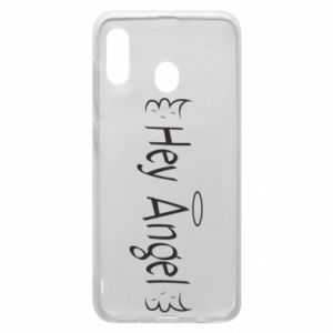 Phone case for Samsung A30 Hey angel