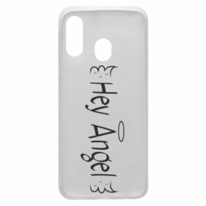 Phone case for Samsung A40 Hey angel
