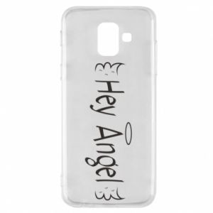 Phone case for Samsung A6 2018 Hey angel