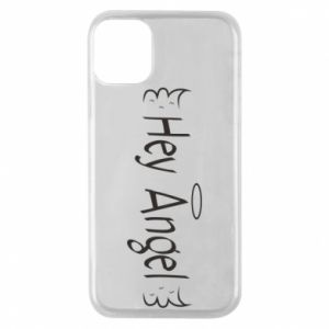 Phone case for iPhone 11 Pro Hey angel