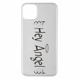Phone case for iPhone 11 Pro Max Hey angel