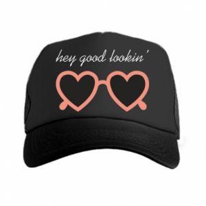 Trucker hat Hey good looking