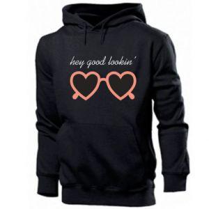 Men's hoodie Hey good looking