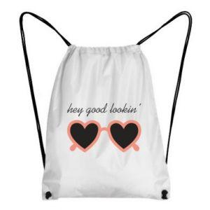 Backpack-bag Hey good looking