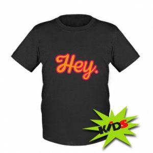 Koszulka dziecięca Hey.