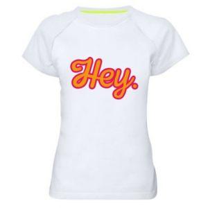 Koszulka sportowa damska Hey.