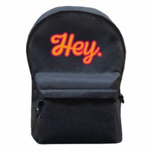 Plecak z przednią kieszenią Hey.