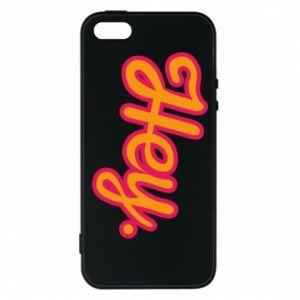 Etui na iPhone 5/5S/SE Hey.