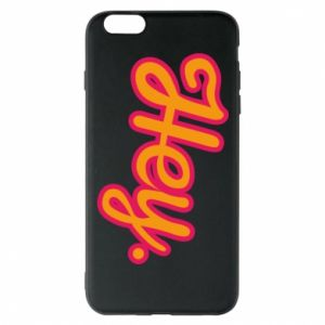 Etui na iPhone 6 Plus/6S Plus Hey.