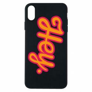Etui na iPhone Xs Max Hey.
