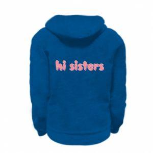 Bluza na zamek dziecięca Hi sisters