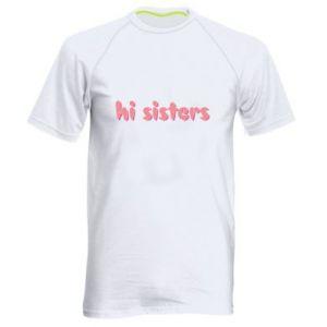 Koszulka sportowa męska Hi sisters