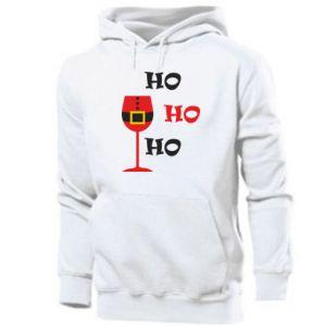 Men's hoodie HO HO HO Santa