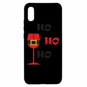 Xiaomi Redmi 9a Case HO HO HO Santa