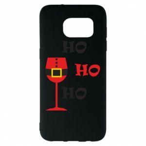 Samsung S7 EDGE Case HO HO HO Santa