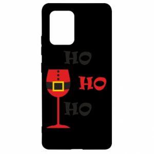 Samsung S10 Lite Case HO HO HO Santa