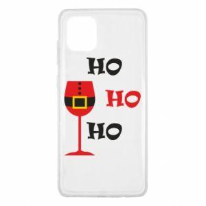 Samsung Note 10 Lite Case HO HO HO Santa