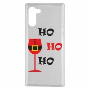 Samsung Note 10 Case HO HO HO Santa