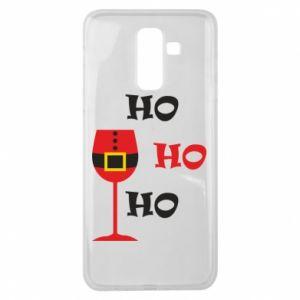 Samsung J8 2018 Case HO HO HO Santa