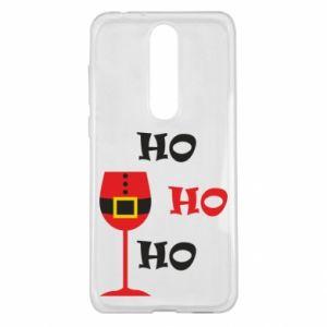 Nokia 5.1 Plus Case HO HO HO Santa
